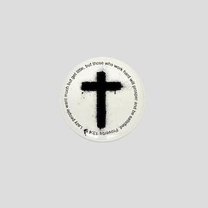 Cross Mini Button