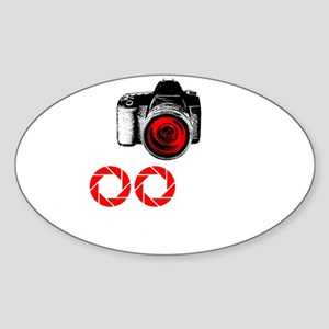 Shooting Everything In Sight Sticker (Oval)