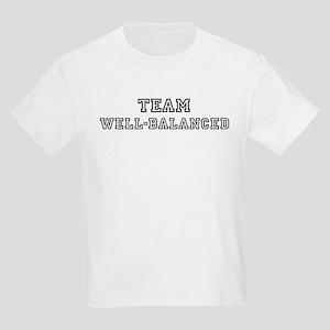Team WELL-BALANCED Kids T-Shirt