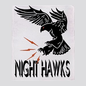 F117 Night Hawks Throw Blanket