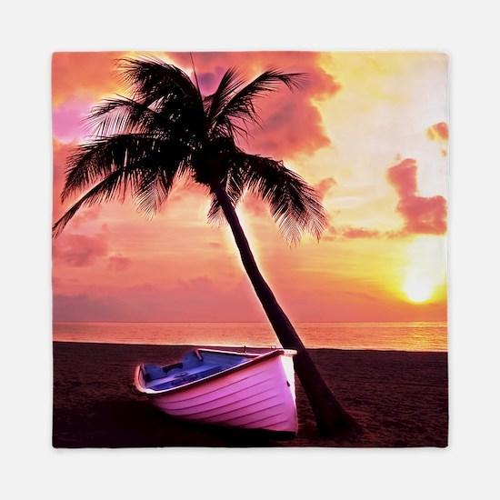 Dream Beach Queen Duvet