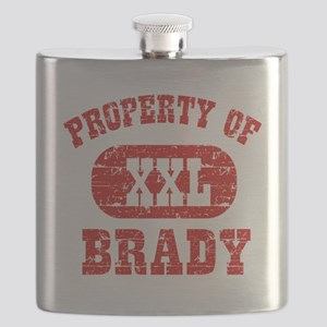 Property of Brady Flask