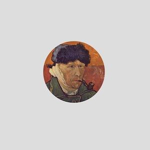 Vincent Van Gogh Self Portrait Mini Button
