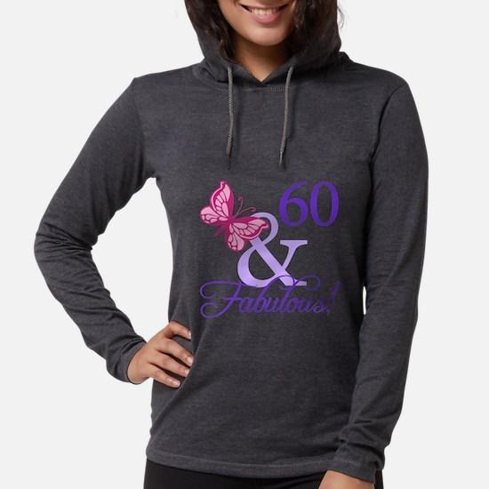 60th Birthday Butterfly Long Sleeve T-Shirt