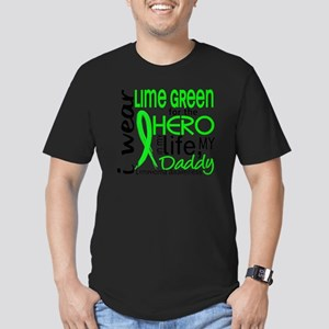 D Hero In Life Daddy L Men's Fitted T-Shirt (dark)