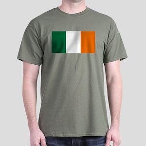 Ireland National Flag Dark T-Shirt