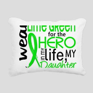 D Hero in Life Daughter  Rectangular Canvas Pillow