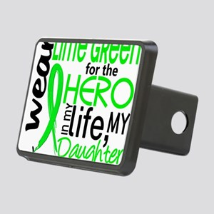 D Hero in Life Daughter Ly Rectangular Hitch Cover