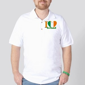 I love Ireland Golf Shirt