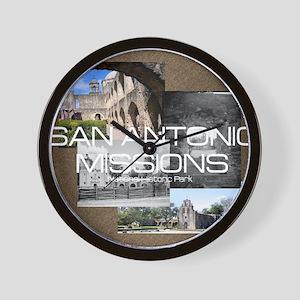 sanantonio1 Wall Clock