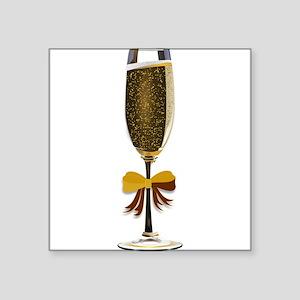 Champagne Glass Sticker