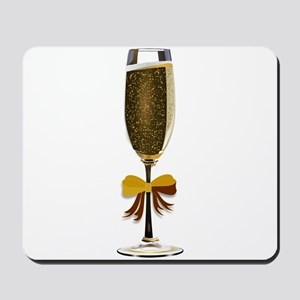 Champagne Glass Mousepad