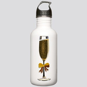 Champagne Glass Sports Water Bottle