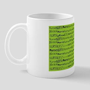 Nurse Nurse Nurse Green Shoulder Bag Mug