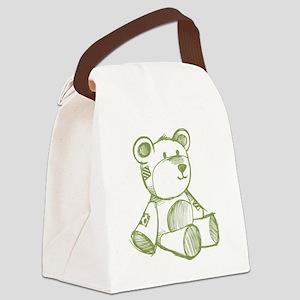 animal12 Canvas Lunch Bag
