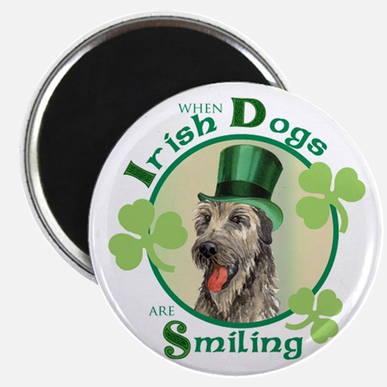St. Patrick Irish Wolfhound Magnet
