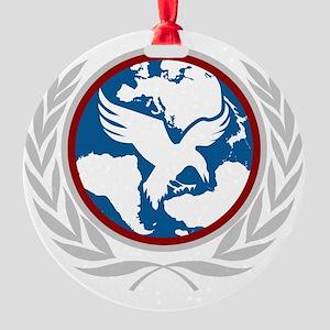 UNS Logo Round Ornament