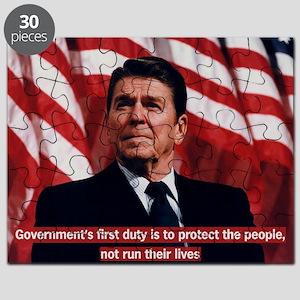 Ronald Reagan Government Quote Puzzle