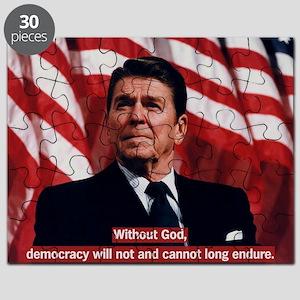 Ronald Reagan God Quote Puzzle