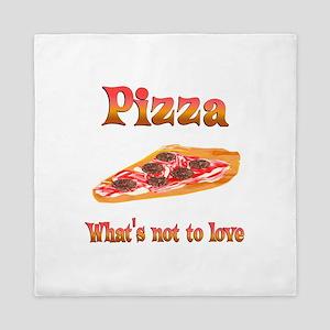 Pizza to Love Queen Duvet