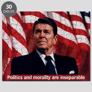 Ronald Reagan Morality Quote Puzzle