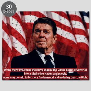 Ronald Reagan Bible Quote Puzzle