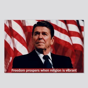 Ronald Reagan Freedom Quo Postcards (Package of 8)