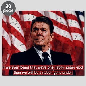 Reagan God Quote Puzzle