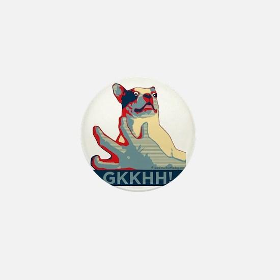 Mackie GKKHH! Shirt (rwb design) Mini Button