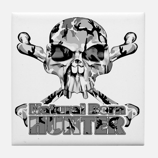 Natural Born Hunter Tile Coaster