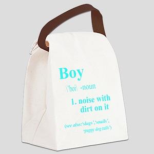 Boy Canvas Lunch Bag