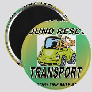 OPEN ARMS POUND RESCUE TRANSPORT Magnet