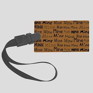Mine Mine Mine Brown Nurse Shoul Large Luggage Tag