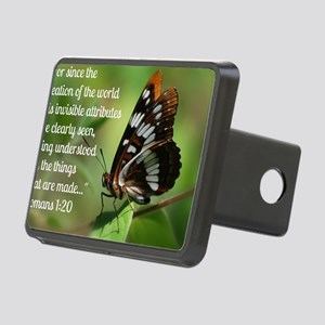 Butterfly Romans 1:20 Rectangular Hitch Cover
