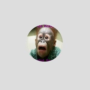 Hokey Pokey Orangutan Mini Button