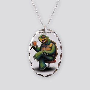 OrderOfTurtles Necklace Oval Charm