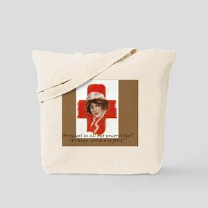 French Nurse Angel Shoulder Bag Tote Bag