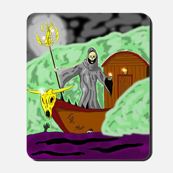 Charon the Ferryman Mousepad