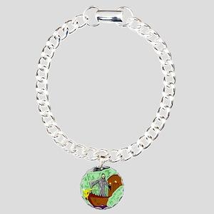 Charon the Ferryman Charm Bracelet, One Charm