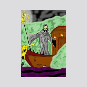Charon the Ferryman Rectangle Magnet