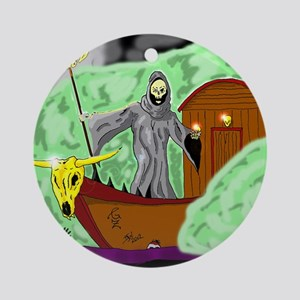 Charon the Ferryman Round Ornament