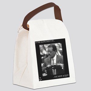 If the glove dont fit Canvas Lunch Bag