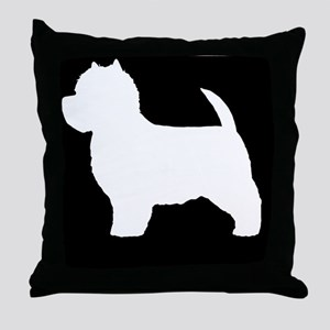 westieLP Throw Pillow