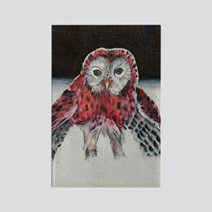 LIttle Red Riding Hoot Rectangle Magnet
