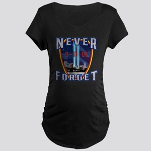 Never Forget Maternity Dark T-Shirt
