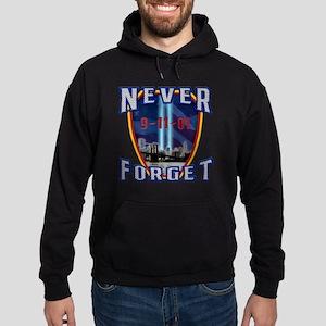 Never Forget Hoodie (dark)