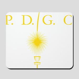 Perth Disc Golf Club Gold Mousepad
