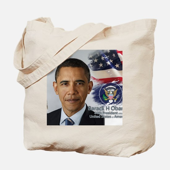 Obama Calendar 001 cover Tote Bag