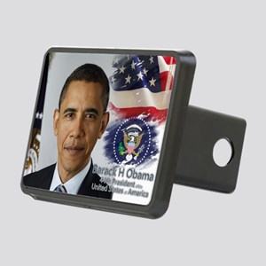 Obama Calendar 001 cover Rectangular Hitch Cover