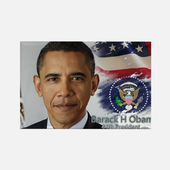 Obama Calendar 001 cover Rectangle Magnet